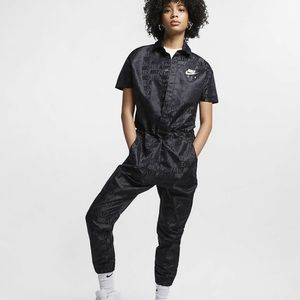 Women's Nike Air Jogger Jumpsuit Black Small